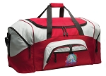 US Field Hockey Duffle Bag or Field Hockey Gym Bags Red