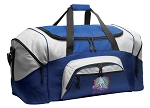 Field Hockey Duffle Bag or US Field Hockey Gym Bags Blue