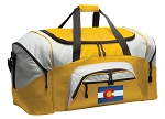 Large Colorado Flag Duffle Bag or Colorado Luggage Bags