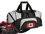 Small Canada Flag Gym Bag or Small Canada Duffel