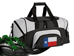 Small Texas Gym Bag or Small Texas Flag Duffel