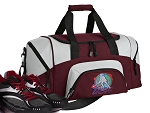 SMALL Field Hockey Gym Bag US Field Hockey Duffle Maroon