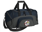 SMALL Baseball Gym Bag Baseball Fan Duffle Navy