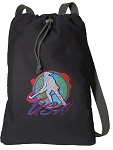 Field Hockey Cotton Drawstring Bag Backpacks