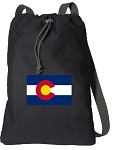 Colorado Cotton Drawstring Bag Backpacks
