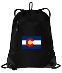 Colorado Drawstring Backpack-MESH & MICROFIBER