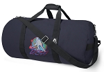 Field Hockey Blue Duffel Bags