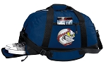 Baseball Duffle Bag w/ Shoe Pocket