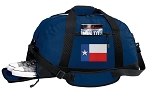 Texas Flag Duffle Bag w/ Shoe Pocket