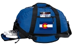 Colorado Duffel Bag with Shoe Pocket Blue