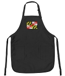 Deluxe Maryland Flag Apron Black