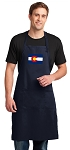 Colorado Apron LARGE Navy