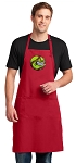 LARGE Softball APRON for MEN or Women RED