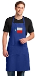 Texas Flag Large Apron Royal