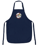 Deluxe Baseball Fan Apron Navy