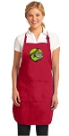 Deluxe Softball Apron Red