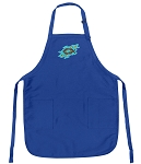 Deluxe Christian Theme Apron Blue