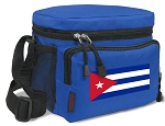 Cuban Flag Lunch Bags Cuba Lunch Totes Blue