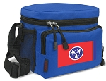 Tennessee Flag Lunch Bags Tennessee Lunch Totes Blue