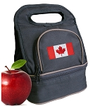 Canada Lunch Bag Black