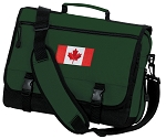Canada Messenger Bag Green