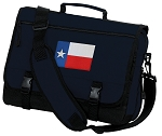 Texas Flag Messenger Bag Navy