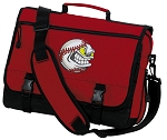 Baseball Messenger Bag Red