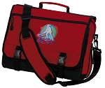 Field Hockey Messenger Bag Red