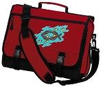 Christian Messenger Bag Red