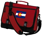 Colorado Messenger Bag Red