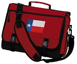 Texas Flag Messenger Bag Red