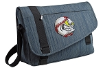 Baseball Messenger Laptop Bag Stylish Navy