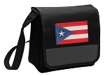 Puerto Rico Lunch Bag Cooler Black