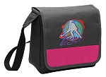 Field Hockey Lunch Bag Cooler Pink