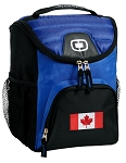 Canada Lunch Box Cooler Bag Blue