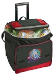 Field Hockey Rolling Cooler Bag Red