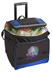 Field Hockey Rolling Cooler Bag Blue