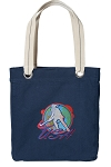 Field Hockey Tote Bag RICH COTTON CANVAS Navy