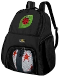 Ladybug Soccer Backpack or Ladybugs Volleyball Bag for Boys or Girls