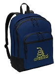 Don't Tread on Me Backpack Navy