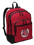 Horse Backpack CLASSIC STYLE Red