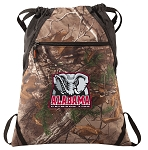 Alabama RealTree Camo Cinch Pack