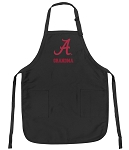 Official University of Alabama Grandma Apron Black