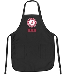 Official Alabama Dad Apron Black