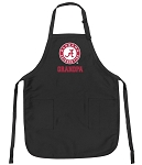 Official Alabama GRANDPA Apron Black