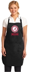 Official Alabama MOM Apron Black