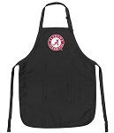 Official Alabama Apron Black