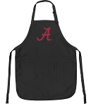 Official University of Alabama Apron Black