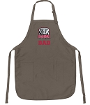 Official University of Alabama Dad Apron Tan
