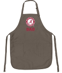 Official UA Alabama Dad Apron Tan